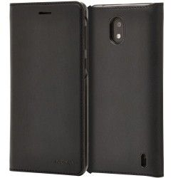 Чехол-книжка Nokia CP-304 Slim Flip Wallet Case for Nokia 2 in Black