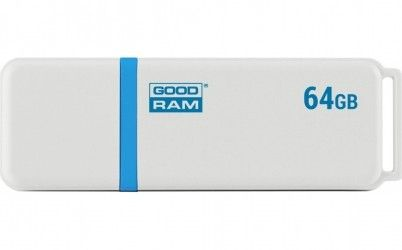 USB флеш накопитель Goodram UMO2 64GB USB 2.0 White Graphite (UMO2-0640WER11)