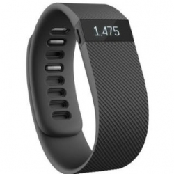 Фитнес-трекер Fitbit Charge Large Black (FB404BKL-EU)