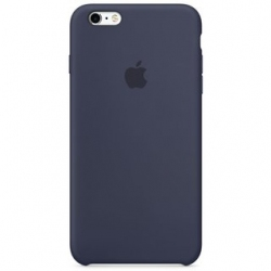 Панель Apple iPhone 6s Silicone Case Midnight Blue (MKY22ZM/A)