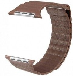 Ремешок Apple Leather Loop Band for Apple Watch 38mm Brown