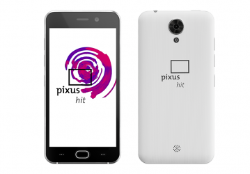 Смартфон Pixus Hit White
