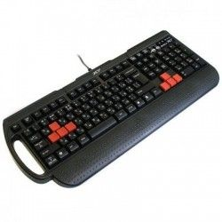 Клавиатура A4Tech X7 G700 Multimedia gaming K/b Black PS/2