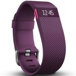 Фитнес-трекер Fitbit Charge HR Large Plum (FBHRPLL)