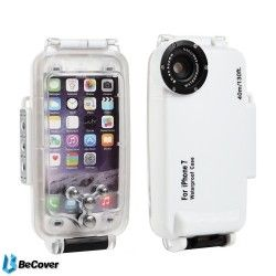 Подводный бокс BeCover 40M Diving Waterproof для Apple iPhone 7 Plus (BC_701401) White
