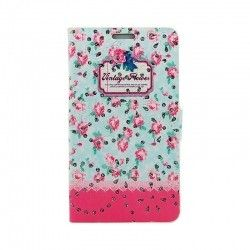 Чохол Book Cover Cath Kidston with diamonds Lenovo A536/A358 Pink