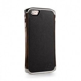 Чехол для iPhone 6/6S Element Case Ronin Ultra Luxe Platinum/Wenge/Black Leather  (EMT-0156)