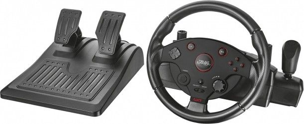 Проводной руль Trust GXT 288 Racing Wheel PC/PS3 Black (20293)