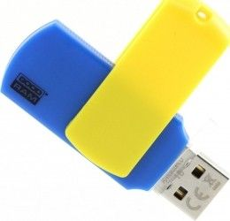 USB флеш накопитель Goodram Colour 32GB Ukraine Blue/Yellow (UCO2-0320BYR11)