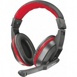 Навушники Trust Ziva Gaming Headset (21953) Black-Red