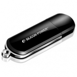 USB флеш накопитель Silicon Power LuxMini 322 64GB Black (SP064GBUF2322V1K)