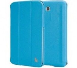 Чехол-книжка Jison Premium Leatherette Smart Case (JS-S21-03H40) Blue for Galaxy Tab 3 7.0 (P3200)