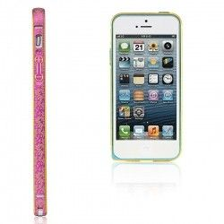 Бампер Metalic Slim Elegant iPhone 6 Pink