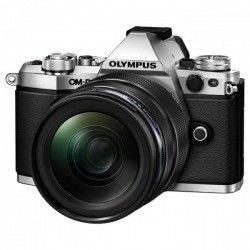 Фотоаппарат Olympus E-M5 Mark II 12-40 PRO Kit Silver-Black (V207041SE000)