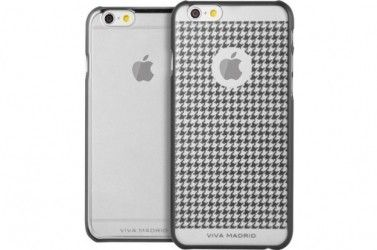 Чехол для iPhone Viva iPhone 6 Metalico Gunmetal Houndstooth