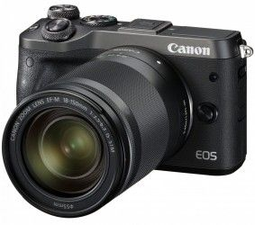 Фотоаппарат Canon EOS M6 18-150 IS STM Black (1724C044)