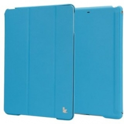 Чехол-книжка для iPad Jison Case Executive Smart Cover for iPad Air/Air 2 Blue (JS-ID5-01H40)