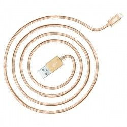 Кабель Just Copper Lightning USB Cable 1.2 м Gold (LGTNG-CPR12-GLD)