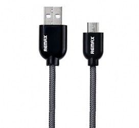 Кабель Remax Micro USB Metal 1М Black