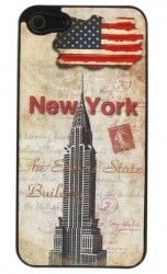 Бампер Perfektum Art series iPhone 5 New York