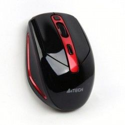 Мышь A4Tech G11-590 HX-1 Wireless Black+Red