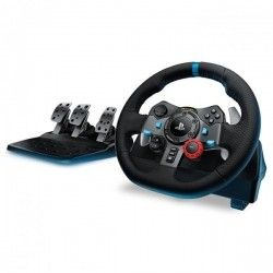 Проводной руль Logitech G29 Driving Force PC/PS3/PS4 Black (941-000112)