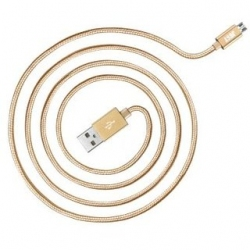 Кабель Just Copper Micro USB Cable 2 м Gold (MCR-CPR2-GLD)