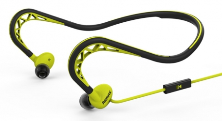 Навушники Remax RM-S15 Earphone Green