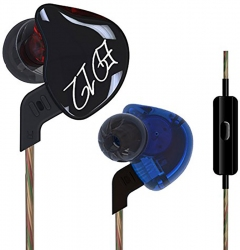 Навушники Knowledge Zenith ED12 Mic Blue-Red