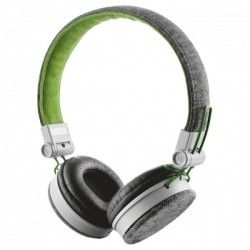 Навушники Trust Urban Revolt Fyber Headphone Grey/Green (20080)