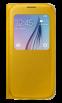 Чехол Samsung S View Zero для Samsung Galaxy S6 Yellow (EF-CG920PYEGRU)