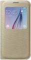 Чехол Samsung S View Zero для Samsung Galaxy S6 Gold (EF-CG920BFEGRU)