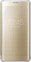 Чехол Samsung Clear View Cover для Samsung Galaxy S6 edge+ Gold (EF-ZG928CFEGRU)