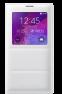 Чехол Samsung для Galaxy Note 4 S view EF-CN910FTEGRU White