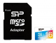 Карта памяти Silicon Power microSDHC 16GB Elite UHS-I COLOR (SP016GBSTHBU1V20-SP)