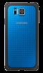 Накладка Samsung для Samsung Galaxy Alpha G850F Blue (EF-PG850BLEGRU)
